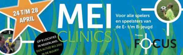 Korfbalstars organiseert de MEIclinics!