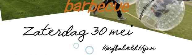 30 mei kampioenswedstrijden + activiteit + BBQ!!