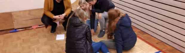 Griezelspeurtocht en rolstoelkorfbal